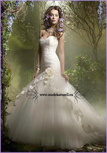 Version: Ballkleid Brautkleid Sissi Hochzeitskleid Abendkleid