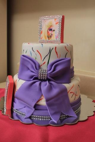 Magnificent Tlite Cakes And Planning Nicki Minaj Theme Cake Personalised Birthday Cards Paralily Jamesorg