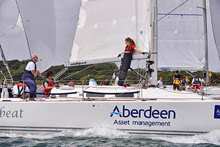 J/109 Aberdeen Asset Management sailing Cowes Race Week