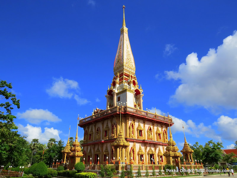 Pagoda of Wat Chalong