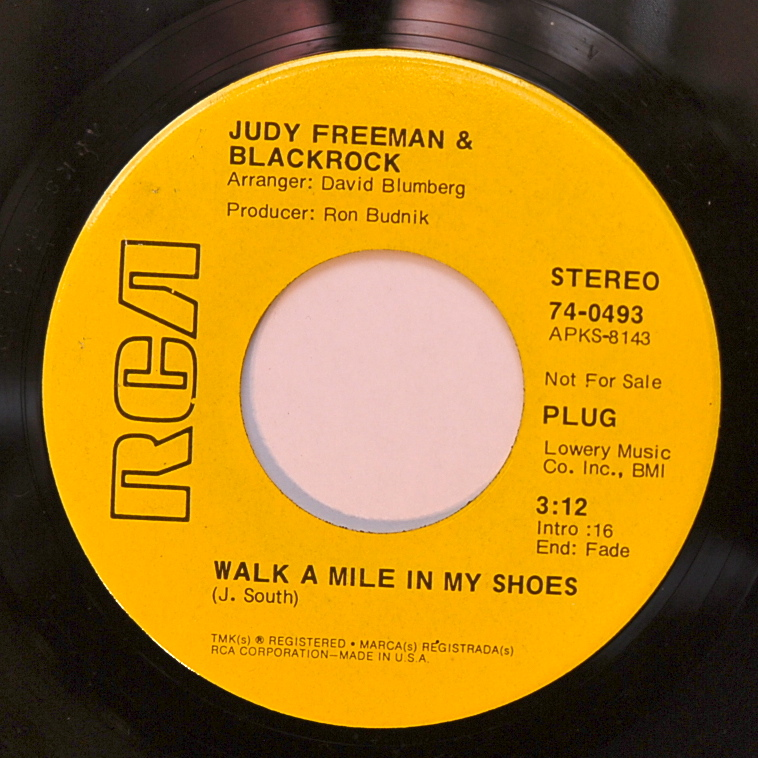 golden records judy freeman blackrock hold on walk a