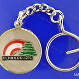 لبنانيات: علم لبنان مع قوس قزح Lebanese Icons: Lebanese Flag  with Rainbow Size: 35 mm