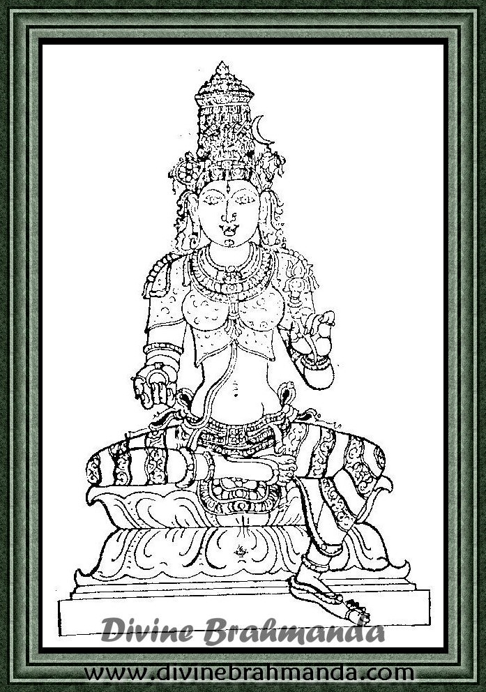 Soundarya Lahari Sloka, Yantra & Goddess For Freedom From Troubles - 88