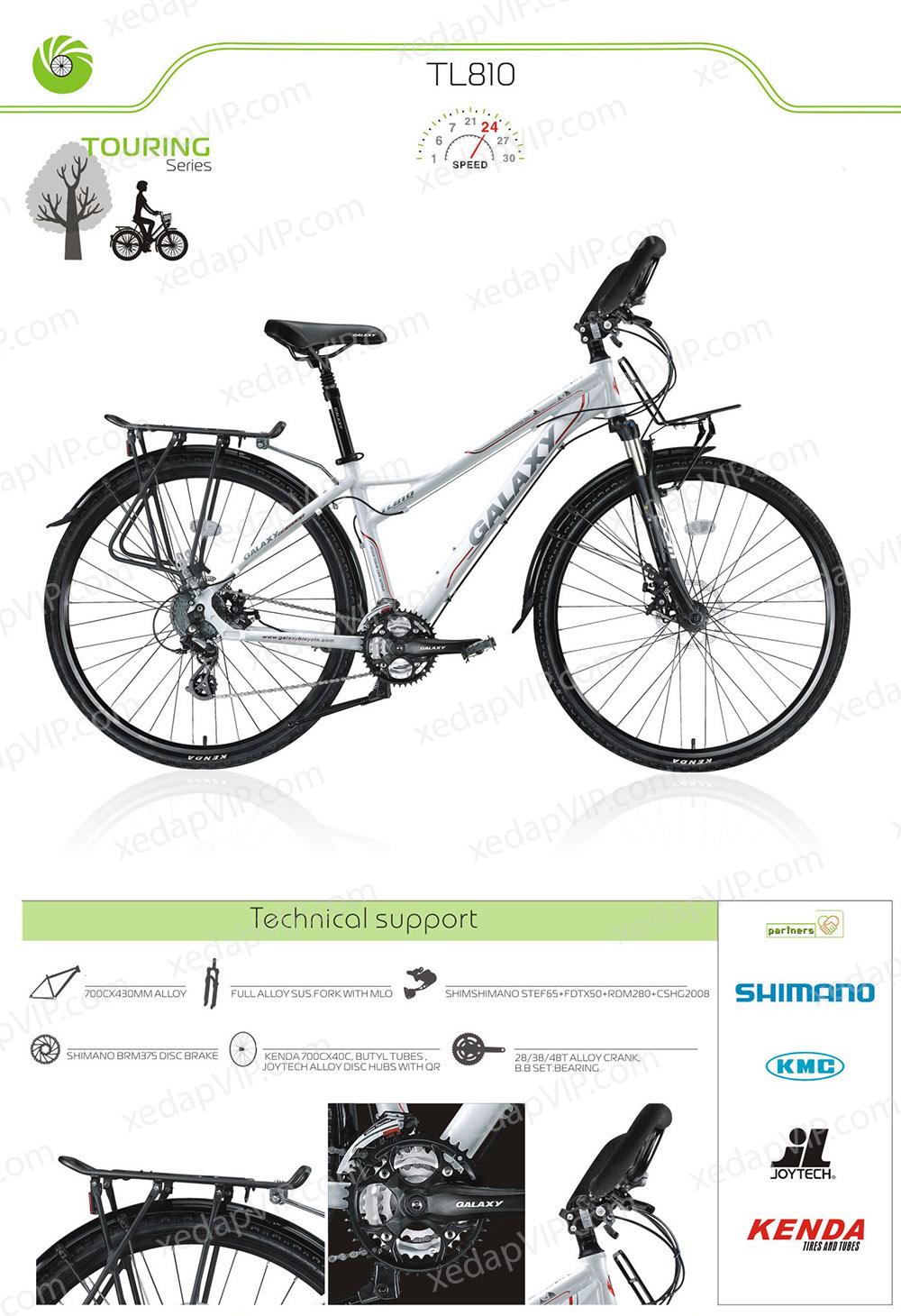 Xe dap the thao nu GALAXY TL810, xe dap the thao, xe dap trinx, xe đạp thể thao chính hãng, xe dap asama, tl810