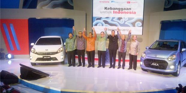 Astra Perkenalkan Toyota Agya-Daihatsu Ayla
