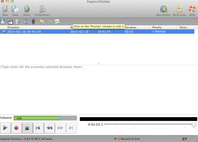 Express Dictate Free - Best dictation software for Mac OS X