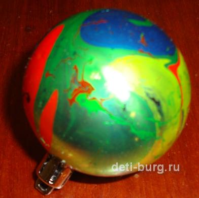 украшаем елочные шары
