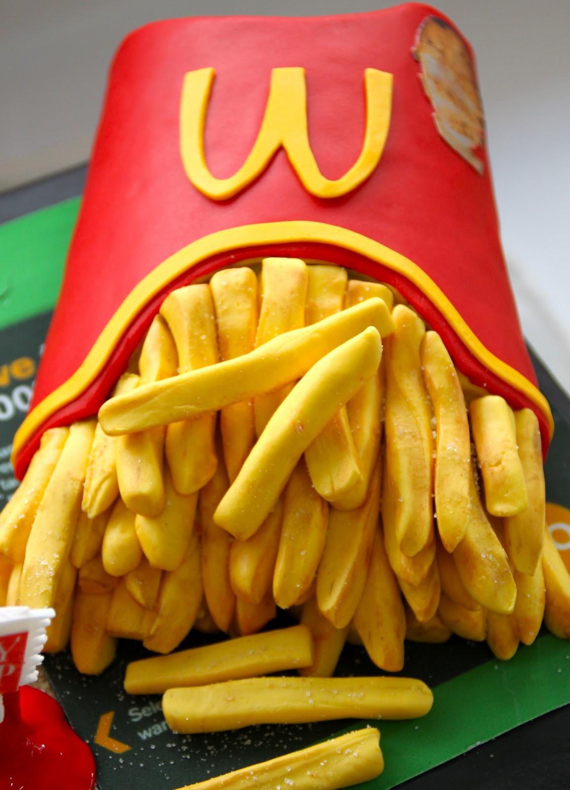 Mcdonalds Fries And Bu...