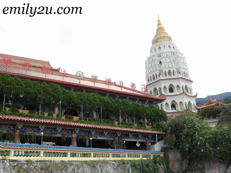 huge pagoda