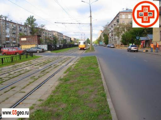 Топографо-геодезические работы по изготовлению продольных и поперечных профилей трамвайных линий. Картинка трамвайных путей для проекта реконструкции трамвайной линии