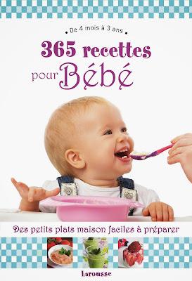 livre 365 recettes pour bébé Christine Zalejski