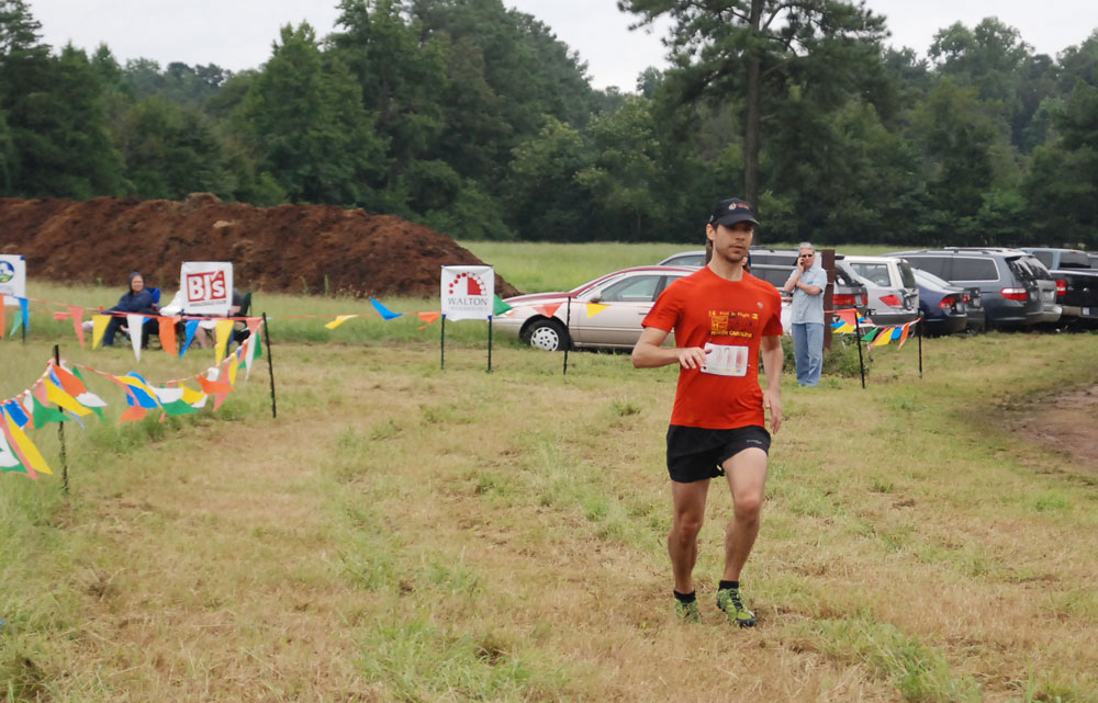 MacNair's Farm 10K finish