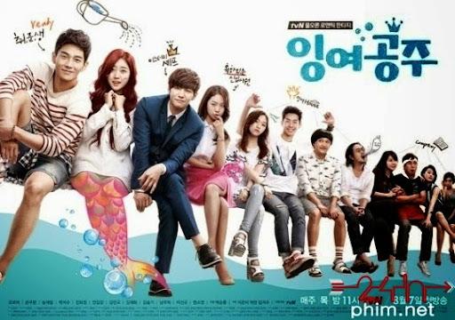 24hphim.net Surplus Princess Poster2 Nàng Tiên Cá