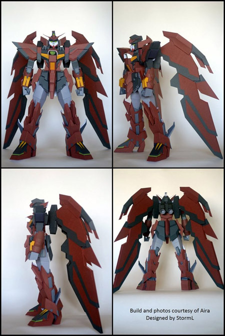 OZ13MS Gundam Epyon Papercraft