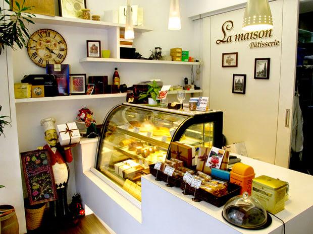 有著巴黎風格裝飾的La maison patisserie-台中蛋糕店梅笙蛋糕工作室La Maison