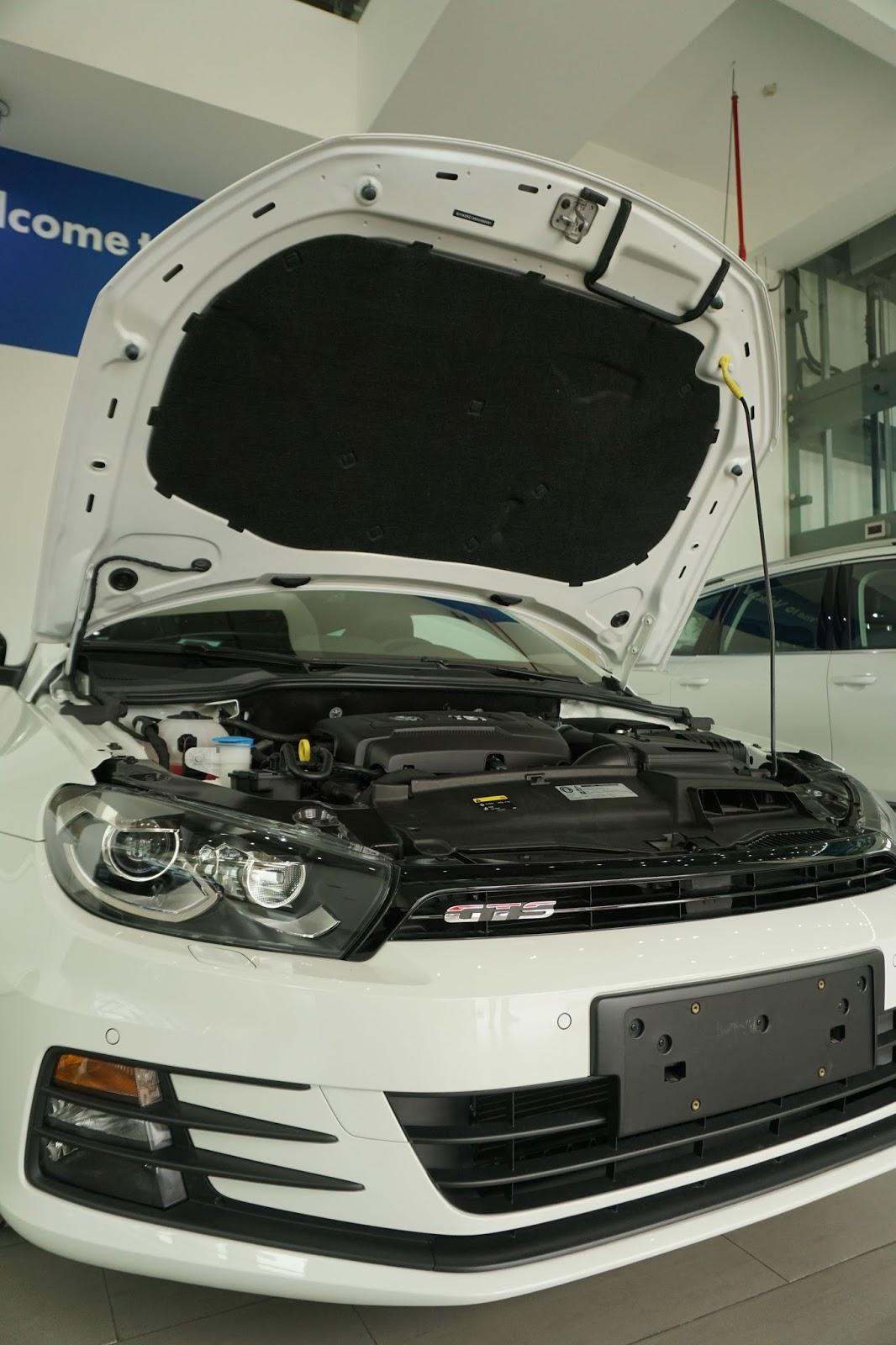 Scirocco GTS 2016 sở hữu khối động cơ thể thao cực mạnh, nên lái chắc rất đã