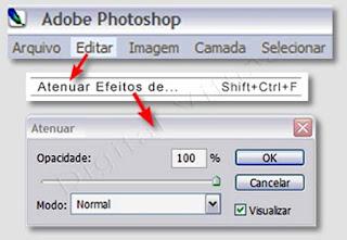 Imagem - atenuar efeitos/plugins no photoshop