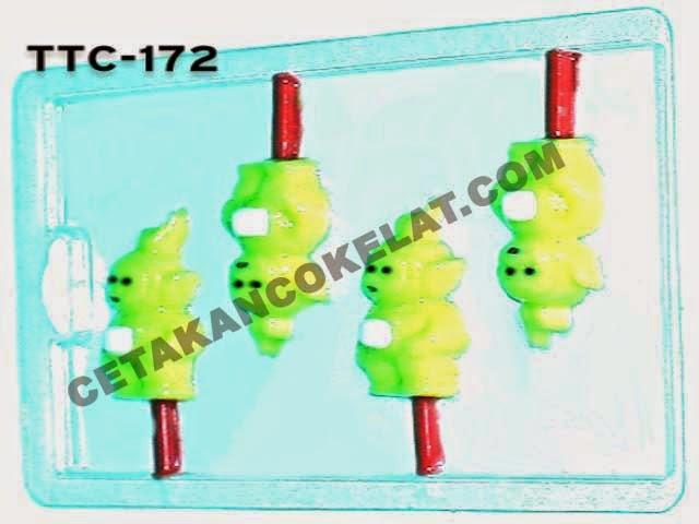 Cetakan Coklat  TTC172 Teletubbies Lala