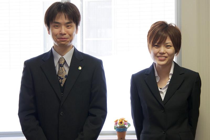 左:中井啓介さん  右:岡田祐美さん