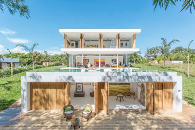 #GM Arquitectos 哥倫比亞建築事務所:打造 Gallery House 藝術之家 別墅 3