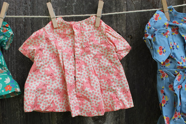handmade vintage doll clothing