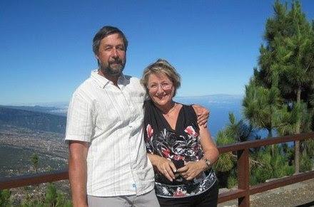 Ирина Удилова на Канарах с мужем (остров Тенерифе)