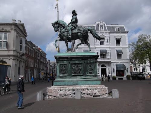 L'Aja. Statua del Principe Guglielmo I dei Paesi Bassi
