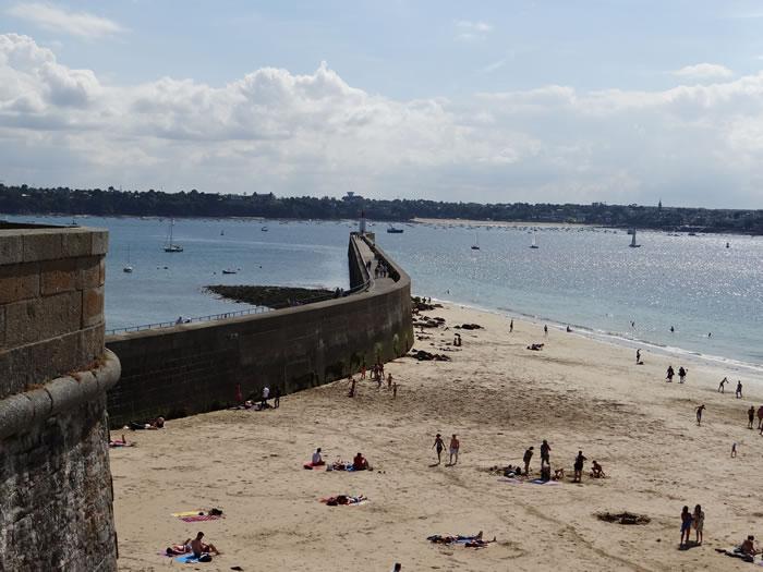 Photo prise à Saint Malo pour Couleurs Bretagne par Bretagne-web.fr