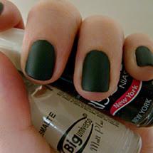 Esmalte fosco verde