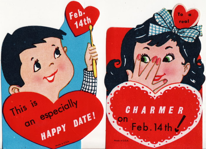 Retro Valentine Card