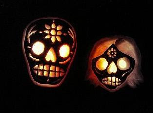 sculpted pumpkins
