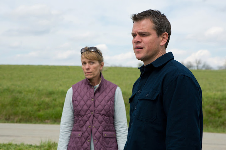 Frances McDormand and Matt Damon in Promised Land. Photo:Scott Green