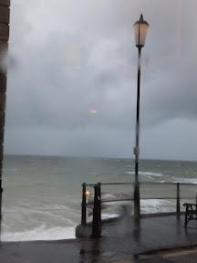 Stormy seas at Cromer