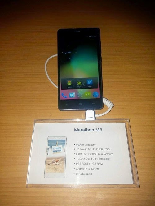 Gionee Marathon M3 With Battery 5000mAh Now Available For 38k