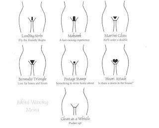Bikini wax definition