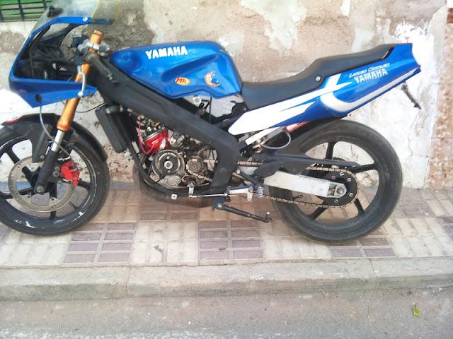 Yamaha TZR 50 motor Minarelli Dsc00173h
