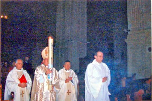 Pacua de Resurrección en la Iglesia Colegial Basílica de Santa maría de Xàtiva 2014