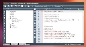 Texmaker in Ubuntu Linux