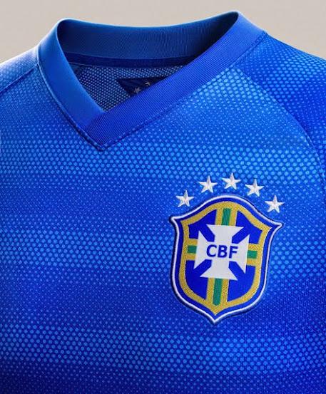 áo bóng đá brazil sân khách
