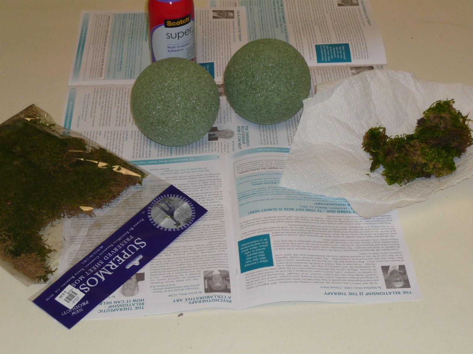 Designing Domesticity Moss Balls