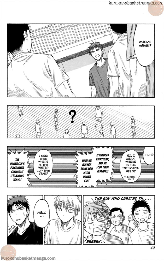 Kuroko no Basket Manga Chapter 54 - Image 14