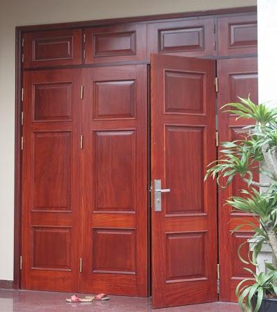 Khóa cửa gỗ dành cho người thích sự đơn giản