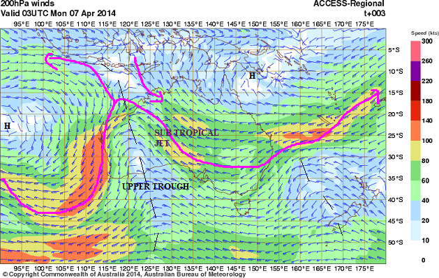 7th April 2014 jetstream australia