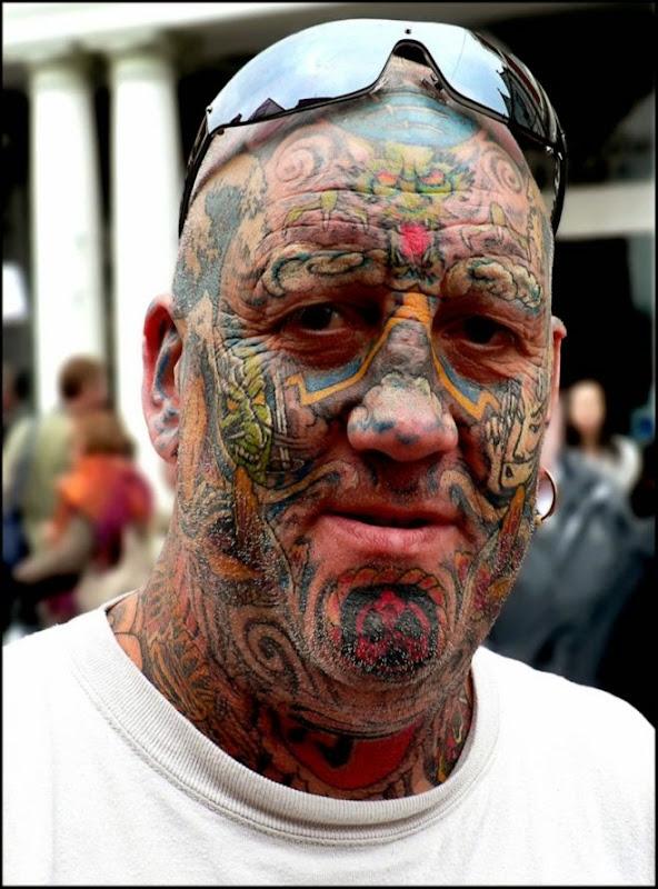 Face Tattoo  Tattooed America