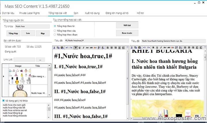 Miễn Phí 2 tháng dùng Phần mềm Tạo content tự động: Mass SEO Content