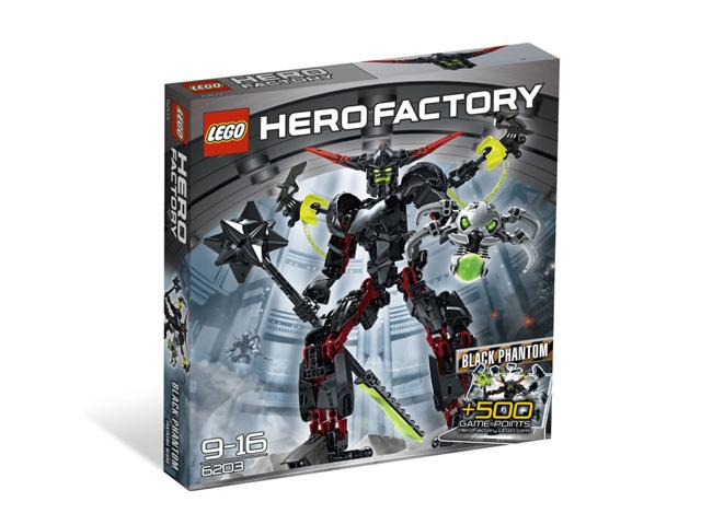 レゴ ヒーローファクトリー ブラックファントム 6203
