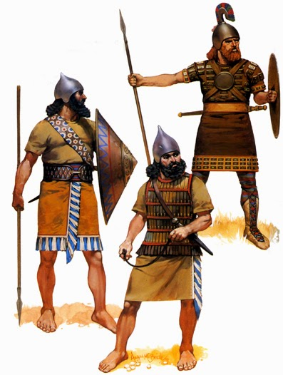 Пехота Ассирии