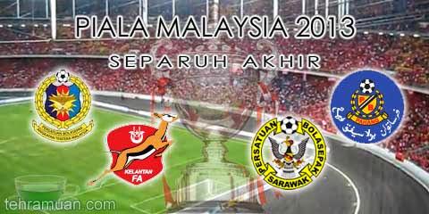 separuh akhir piala malaysia 2013