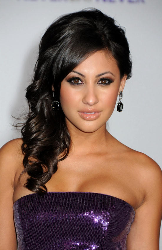 Hollywood Actress Francia Raisa Photoshott At Event In Stylish Dress