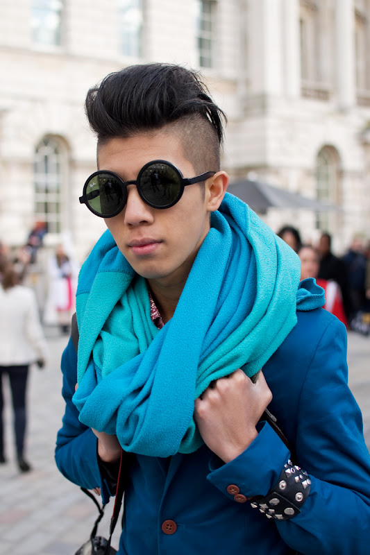 Toni Tran at London Fashion Week